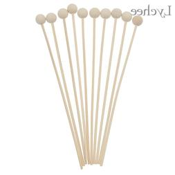 Lychee 10pcs <font><b>Wood</b></font> Ball For <font><b>Frag