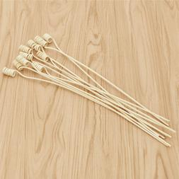 10Pcs Fragrance Diffuser Rattan Sticks Refill Replacemen Sti