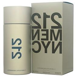 Carolina Herrera 212 Eau de Toilette Spray for Men, 6.7 Ounc