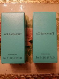 2xTIFFANY & CO. Eau de Parfum Mini Perfume .17 fl oz/5 ml Br