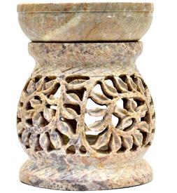 3 Inch Handmade Stone Aroma Diffuser Essential Oil  Diffuser