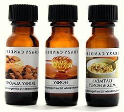3 Oil Set Oatmeal Milk & Honey, Honey, Honey Almond Premium