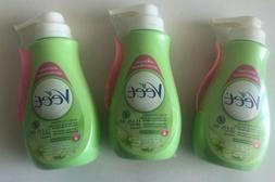 3 pc Veet Hair Removal Gel Cream Pump Shear Butter & Lily Fr