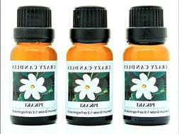 3 Pikaki  1/2oz Premium Grade Scented Fragrance Oil Crazy Ca
