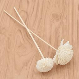 5x Wooden Rattan Daisy Diffuser Stick Home Aromatherapy Frag