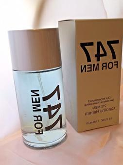 747 For Men Eau de Toilette Cologne Spray 3.3 oz. by Preferr