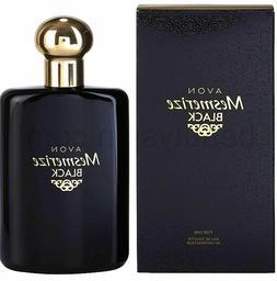 Avon Mesmerize Black Cologne Spray for Men Full Size 3.4 Fl