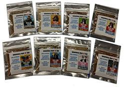 Big Axe Spice BABY BEAR PINCH PACKETS - VARIETY 8-PACK: Mega