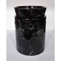 Marble Decorative Ceramic Tart Warmer - Set of Dish and Burn