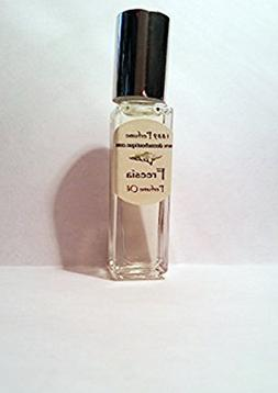 Freesia Perfume Oil - Alcohol Free - 1/3 oz Roll On White Fl