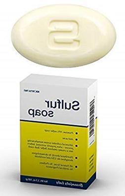 Sulphur Soap - Premium 10% Sulfur Advanced Wash for Acne. Na