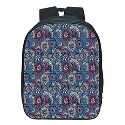 Vogue Pressure Relief Spine Kids School Backpack,Floral,Frag