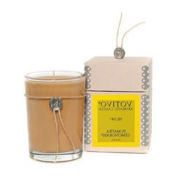 Votivo Aromatic Soybean Wax Sumatra Lemongrass Scented Candl