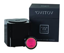 Votivo Black Box Fan Diffuser with Red Currant Fragrance Pod