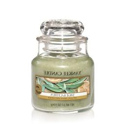 Yankee Candle Sage & Citrus Small Jar Candle, Fresh Scent