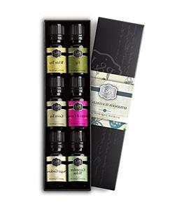 Afternoon Tea Set of 6 Premium Grade Fragrance Oils - Fig, W