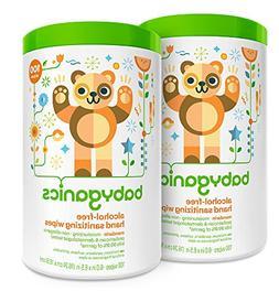 Babyganics Alcohol Free Hand Sanitizer Wipes, Mandarin, 100