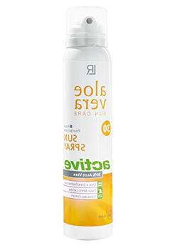 Aloe Vera Sun Spray SPF 30 - Ideal for none sensitive skin -