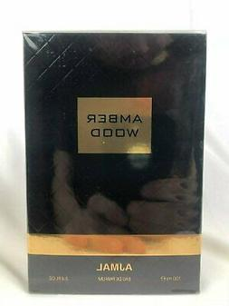 AJMAL Amber Wood 100ml/3.4oz New, Sealed, Authentic & Fast f