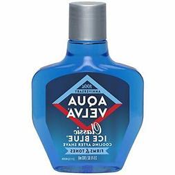 Aqua Velva Mens After Shave, Soothes, Cools, and 3.5 Ounce C