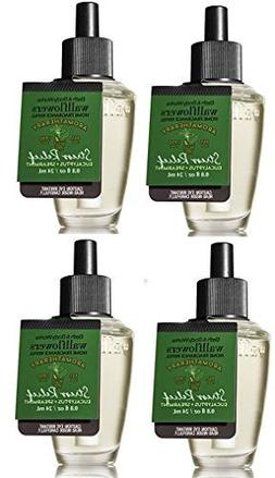 Bath and Body Works 4 Pack Aromatherapy Stress Relief Eucaly