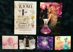 Assorted Avon fragrance samples for Women  Outspoken Haiku I