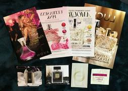 Assorted Avon fragrance samples for Women  Today Luck Black