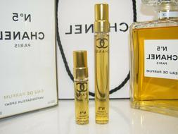 AUTHENTIC! CHANEL No 5 Eau de Parfum Perfume SAMPLE 5mL & 10
