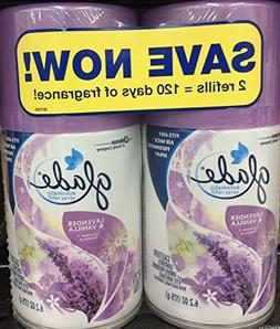 Glade Automatic Spray Refill Lavender & Vanilla-Twin Pack