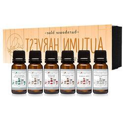Autumn Harvest Gift Set of 6 Premium Fragrance Oils - Almond