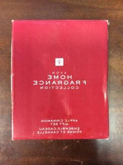 Avon Home Fragrance Collection Apple Cinnamon Gift Set