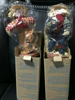AVON HOME FRAGRANCE COLLECTION Mr and Mrs Scarecrow Fall Tha