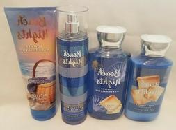 Bath & Body Works BEACH NIGHTS SUMMER MARSHMALLOW  Lotion Ge