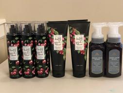 Bath & Body Works BLACK CHERRY MERLOT Body Cream Fragrance M