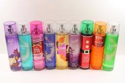 Bath & Body Works Fine Fragrance Mist 8 oz Full Size Body Mi