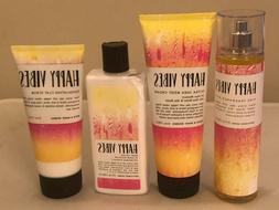 Bath & Body Works Happy Vibes Body Cream Body Lotion Fragran