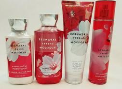 BATH & BODY WORKS JAPANESE CHERRY BLOSSOM MIST SHOWER GEL LO