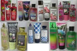 Bath & Body Works Shower Gel Cream Fragrance Mist Lot Set of