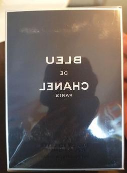 Bleu De CHANEL 3.4 Oz 100 mL Men's Eau De Toilette Brand New