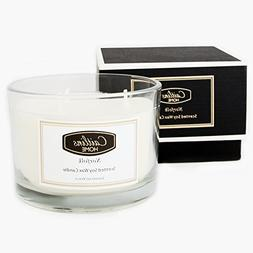 Caitlins Home Lavender and Vanilla Scented Candle 3 Wick Soy