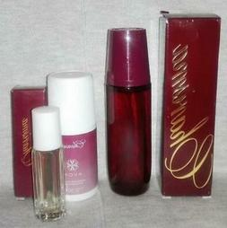 AVON CHARISMA COLOGNE SPRAY 1.7 OZ  DISCONTINUED + ROLLETTE