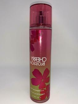 Bath and Body Works x3 Cherry Blossom 8oz Body Spray Mist Di