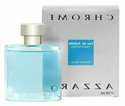 CHROME by Azzaro 3.4 oz Eau de Toilette Spray Men's Cologne