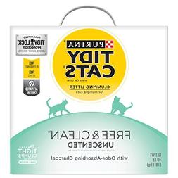 Purina Tidy Cats Free & Clean With TidyLock Protection Clump