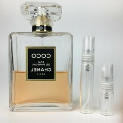 Coco Chanel EAU DE PARFUM - SAMPLE 2ml or 5ml Perfume 100% A