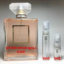 CHANEL COCO MADEMOISELLE EAU DE PARFUM SAMPLE 2ml or 5ml Per