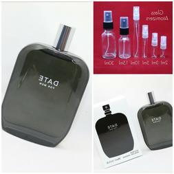 Fragrance One DATE For Men Authentic SAMPLE 2ml 3ml 5ml 10ml