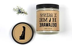 Delaware Homesick Candle Missing Home State Candle 8 oz Scen