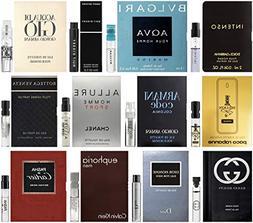 Best Selling Designer Fragrance Sampler for Men - Lot x 12 C
