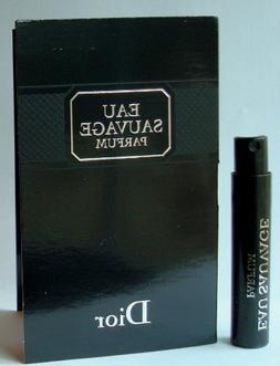 EAU SAUVAGE by Christian Dior. Parfum 1ml-0.03fl.oz. For Men